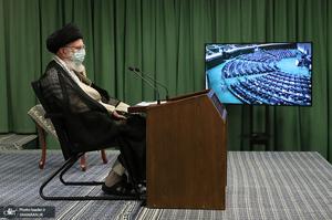 ارتباط تصویری نمایندگان مجلس با رهبر معظم انقلاب