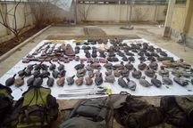 عاملان شکار 64 پرنده در خلیج گرگان دستگیر شدند