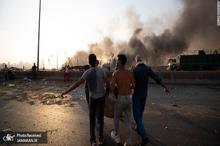 تصاویری از بیمارستان بیروت لحظه وقوع انفجار مهیب
