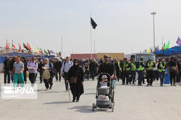 ۱۲۳ هزار نفر از مرز مهران تردد کردند