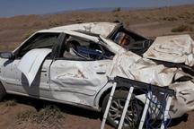 واژگونی خودرو در آزادراه زنجان - قزوین جان دختربچه را گرفت