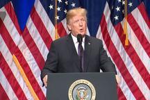 ترامپ: مقامات آمریکایی توافق بدی با ایران داشتهاند /آمریکا منبع صلح و ثبات در جهان است!