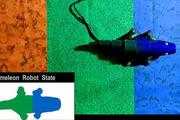 این ربات خود را به رنگ محیط اطراف در می آورد