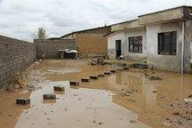 418 منزل ایثارگران گلستان در سیل خسارت دید