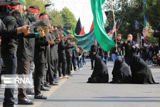 آذربایجانغربی در ماتم حسینی خون میگرید