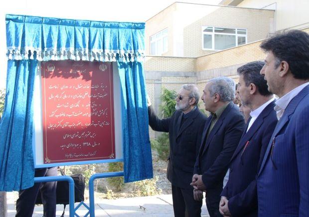 رییس مجلس مجهزترین تصفیهخانه آب کشور در مهاباد را افتتاح کرد
