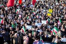 اجتماع انقلابی مردم اراک در محکومیت نا آرامی های اخیر کشور
