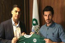 قرارداد حدادی فر با تیم فوتبال ذوب آهن تمدید شد