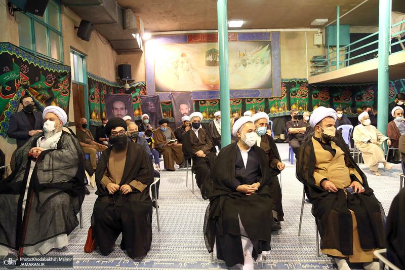 مراسم شام شهادت امام رضا(ع) و بزرگداشت علامه حکیمی در حسینیه جماران-1