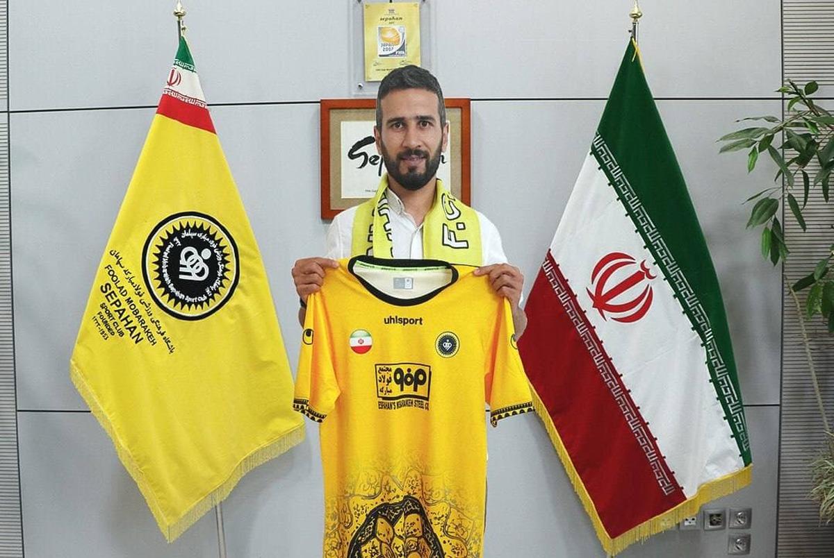 آقای گل لیگ برتر با سپاهان تمدید کرد
