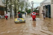 خبرنگاران خارجی از مناطق سیل زده گلستان بازدید می کنند