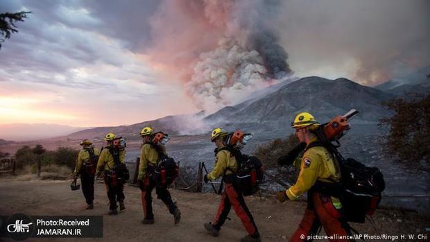 دود آتش سوزی مهیب آمریکا با طی 8هزار کیلومتر به اروپا رسید
