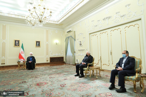 دیدار وزیر خارجه پاکستان با رئیس جمهوری