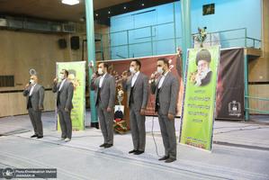 مراسم جشن غدیردر حسینیه جماران