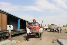 ظرفیت بارگیری کالا در بخش ریلی زنجان رشد 250 درصدی یافت