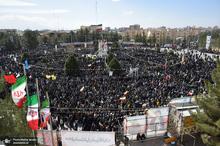 راهپیمایی باشکوه 22 بهمن در کرمان