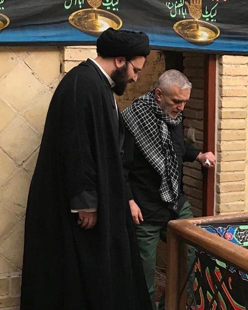 عکس/ بازدید حاج منصور ارضی از بیت تاریخی امام خمینی (س) در نجف اشرف