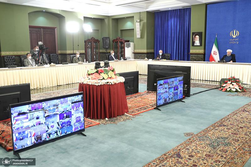 جلسه ستاد ملی مقابله با کرونا-11 مرداد
