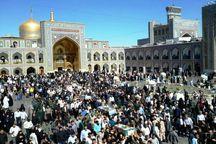 پیکر پاک پنج شهید در مشهد تشییع شد