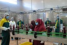 افتتاح یک واحد تولیدی نوشیدنیهای گیاهی در شهر صنعتی البرز
