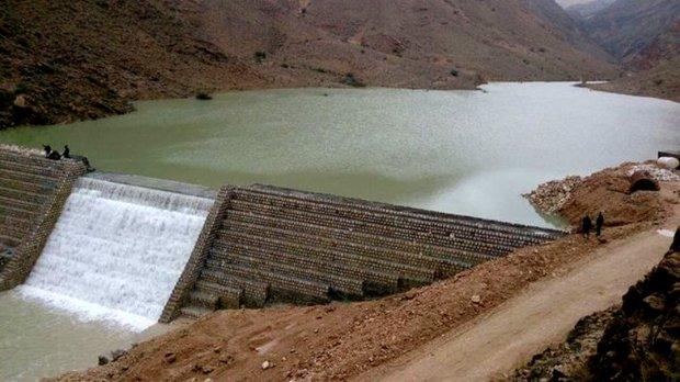 750 سازه آبخیزداری در جنوب کرمان آبگیری شد
