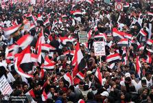 برگزاری تظاهرات بزرگ مخالفت با حضور آمریکایی ها در عراق/ سخنگوی کتائب: عراقیها از مقاصد اشغالگران باخبرند/ آمریکا باید از منطقه برود/ هادی العامری: آمریکا به خواست مردم عراق احترام بگذارد/ رییس جمهور عراق: ملت عراق خواهان کشوری دارای حاکمیت است