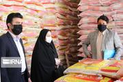 ۷۵ تن برنج احتکار شده در بازار آبادان توزیع شد