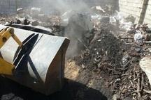 75حلقه چاه زغال غیرمجاز در نجف آباد تخریب شد