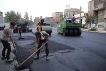 معابر زنجان با 60هزار تن آسفالت بهسازی می شود