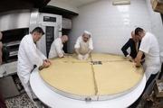 بزرگترین تارت دنیا پخته شد+تصاویر