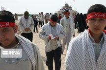 یکصد و ۳۰ دانشآموز خمینی به مناطق عملیاتی دوران دفاع مقدس اعزام شدند