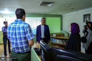 حضور رییس مرکز روابط عمومی و اطلاع رسانی وزارت ارتباطات در جماران