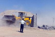 ۸۲ هزار متر مربع اراضی ملی در قزوین رفع تصرف شد