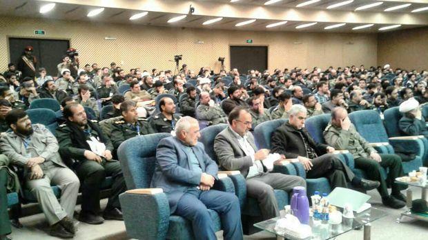 کنگره ملی فرهنگ و هنر سپاه در تبریز آغاز به کار کرد