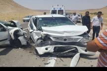 تصادفات خراسان شمالی یک کشته و 2 مجروح داشت