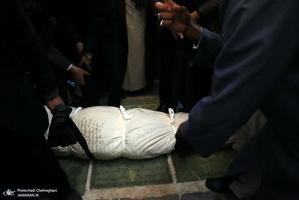 مراسم تشییع و خاکسپاری مرحوم آیت الله قاضی زاده اراکی(ره)