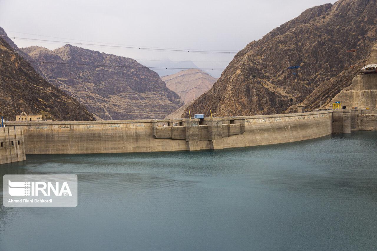 بارندگی های بهاره بیش از ۳۶ میلیون متر مکعب آب وارد سد کوثر شد