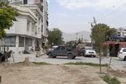 عکس/ حملات راکتی به نزدیکی کاخ ریاست جمهوری افغانستان همزمان با ادای نماز عید قربان