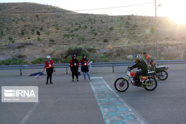 مسابقه موتورسواری بانوان در تبریز برگزار شد + تصاویر