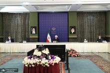 جلسه ستاد ملی مقابله با بیماری کرونا-17 فروردین