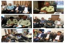 برگزاری کار گروه مبارزه با مواد مخدر در ستاد فرماندهی انتظامی پلدختر