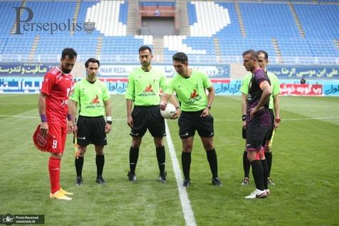 حضور عجیب تماشاگران در ورزشگاه امام رضا (ع) +ویدیو