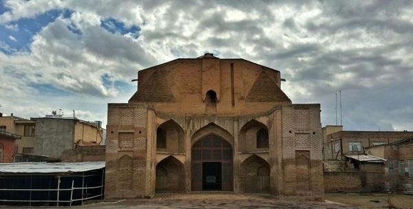 پایان فاز چهارم طرح مرمت مسجد-مدرسه حیدریه در قزوین