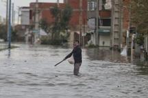 سیلاب شهر زیراب در شهرستان سوادکوه را در نوردید