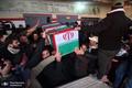 دومین شهید مدافع سلامت استان بوشهر به خاک سپرده شد