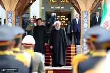 استقبال رسمی روحانی از عمران خان