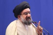 آیت الله خاتمی: فتنه گران تابلوی دشمنان ایران هستند