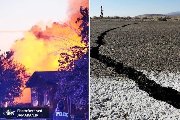 بزرگترین زلزله در جنوب کالیفرنیا در دو دهه گذشته/ هشدار در مورد زلزله های قویتر+ تصاویر