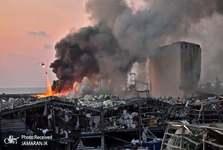 عکس/ یک صحنه جالب توجه پس از انفجار بیروت