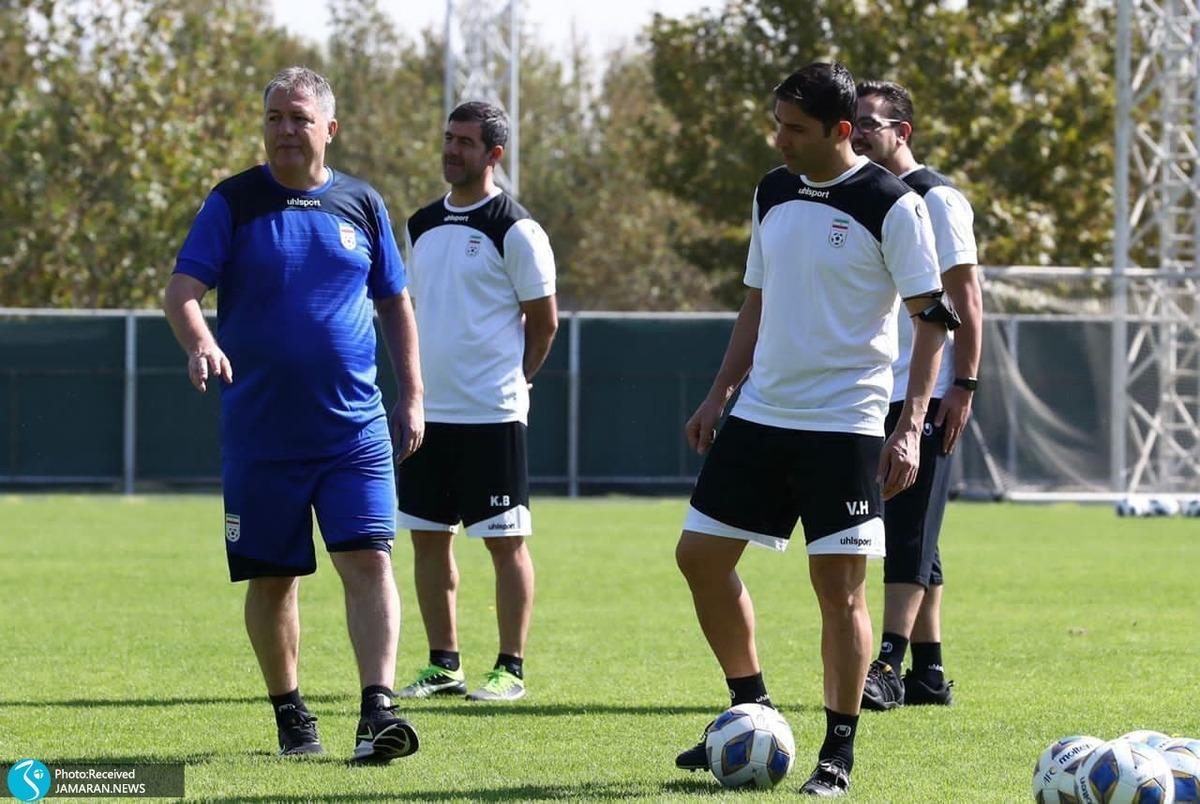 گزارش تمرین تیم ملی فوتبال| آماده باش برای بازی با امارات! +عکس